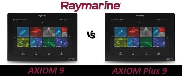 Raymarine AXIOM 9 vs AXIOM Plus 9