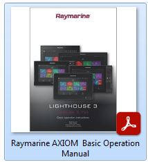 Raymarine AXIOM - Basic Operation Manual