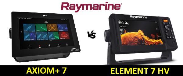 Raymarine AXIOM Plus 7 vs Element 7HV