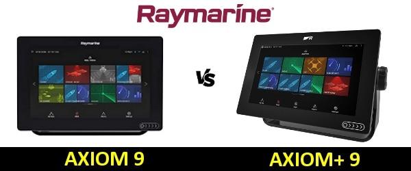Raymarine AXIOM+ 9 vs AXIOM 9