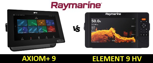 Raymarine AXIOM+ 9 vs Element 9 HV