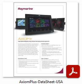 Raymarine AXIOM+ - Data Sheet