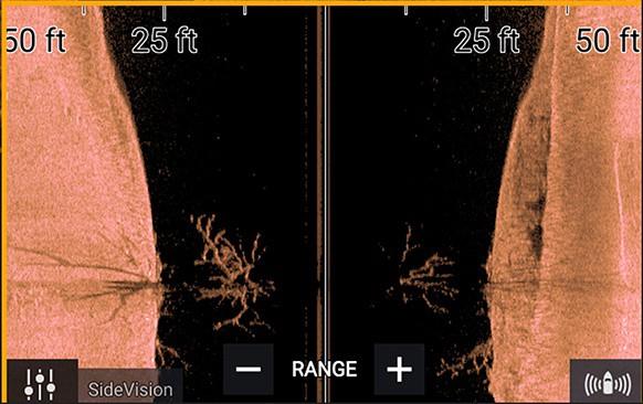 Raymarine Axiom 12 - SideVision Sonar