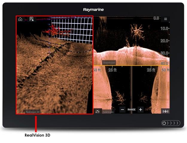 Raymarine Axiom 7 - RealVision 3D Sonar