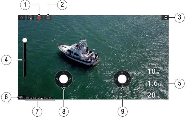 Raymarine Axiom 9 - Drone App Features
