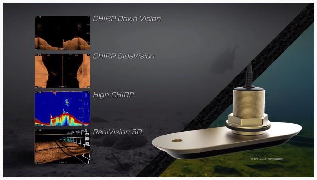 Raymarine Axiom 9 - Sonar