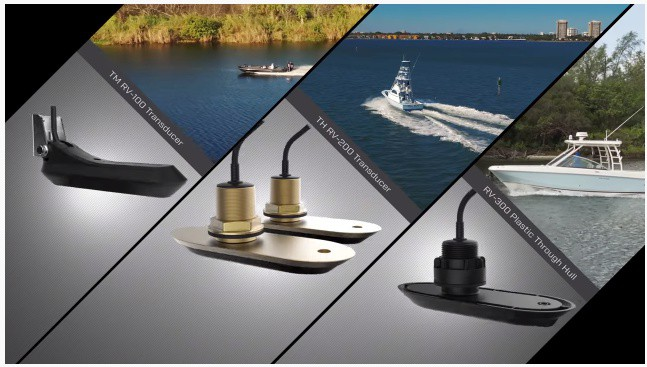 Raymarine Axiom 9 - Transducers
