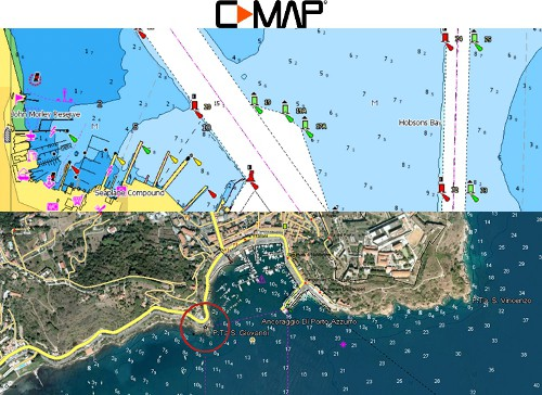 Raymarine AXIOM+ 7 - CMAP Charting