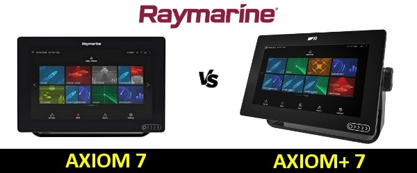 Raymarine AXIOM Plus 7 vs AXIOM 7