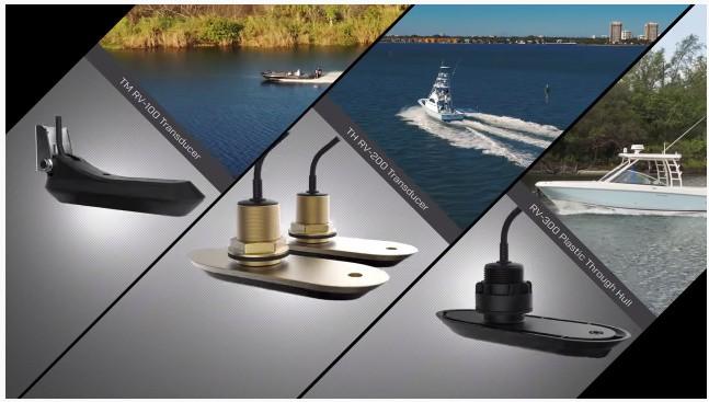 Raymarine Axiom Plus 7 - Transducers
