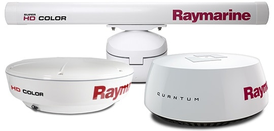 Raymarine e165 - Radar Options