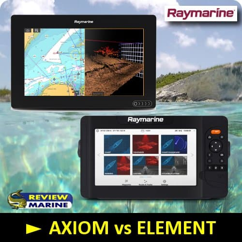 Raymarine AXIOM vs ELEMENT