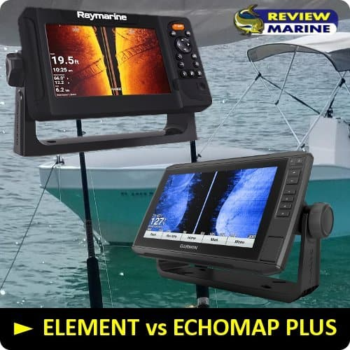 Raymarine ELEMENT vs Garmin ECHOMAP Plus