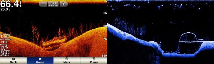 How Garmin ClearVu sonar works