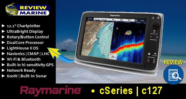 Raymarine c127 - Review