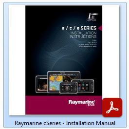 Raymarine cSeries - Installation Manual