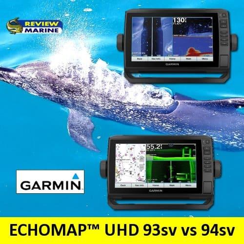 Garmin ECHOMAP UHD 93sv vs 94sv