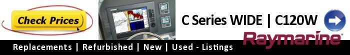 Raymarine C Series Widescreen C120W- Current Price