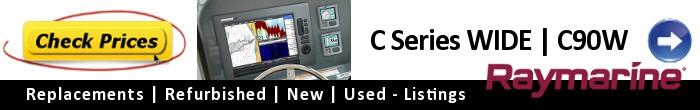 Raymarine C Series Widescreen C90W- Current Price