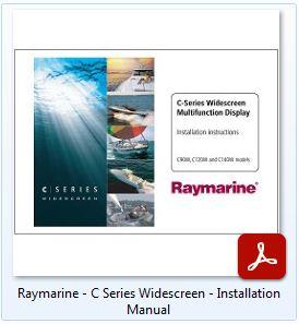 Raymarine C Series Widescreen - Installation Manual