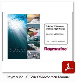 Raymarine C Series Widescreen - Manual
