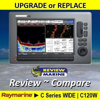 Raymarine C120W