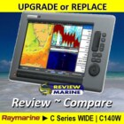 Raymarine C140W