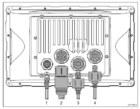 Raymarine C90W - Rear Connections