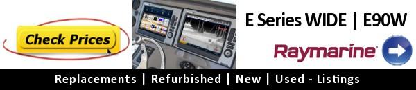 Raymarine E Series Widescreen E90W - Current Price