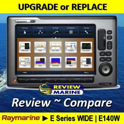 Raymarine E140W