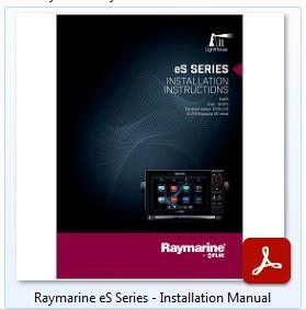 Raymarine eS Series - Install Manual