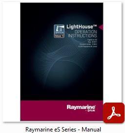 Raymarine eS Series - Manual