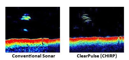 Raymarine eS97 - Sonar