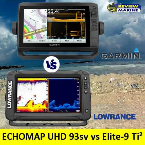 Garmin ECHOMAP UHD 93sv vs Lowrance Elite-9 Ti²