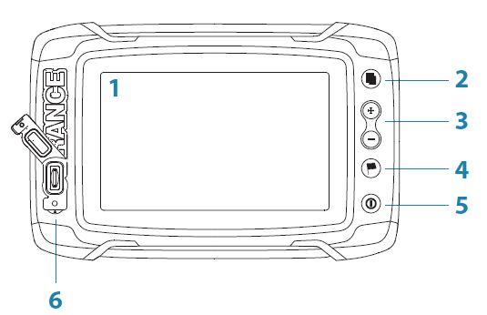 Lowrance Elite-5 Ti - Screen Control